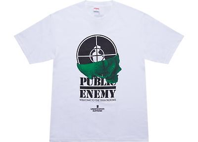 £73.12 • Buy New Supreme Undercover Public Enemy: Terrordome Tee White Large T Shirt Ss18