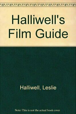 Halliwell's Film Guide By Halliwell, Leslie Hardback Book The Cheap Fast Free • 24.99£