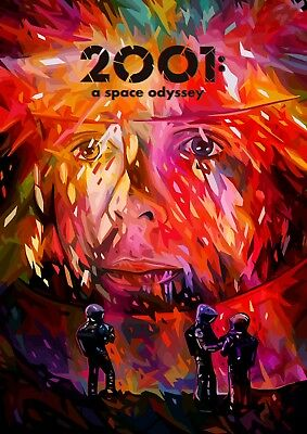 £4.99 • Buy 2001 A SPACE ODYSSEY ART 2001AT POSTER Print A4 A3 BUY 2 GET 1 FREE