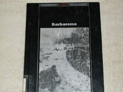 Barbarossa (Third Reich S.) By Time-Life Books Hardback Book The Cheap Fast Free • 11.99£