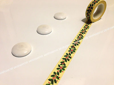 AU6.29 • Buy Japanese Washi Tape 15mmx10m Christmas Festive Decoration #W711