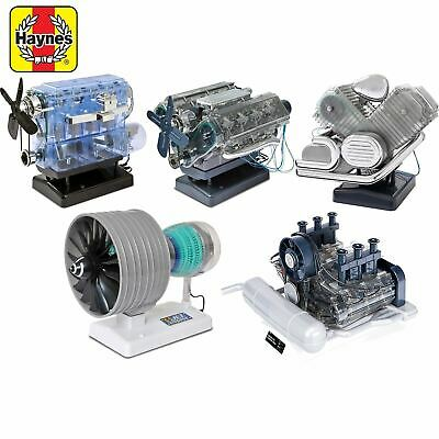 £49.95 • Buy Haynes Build Your Own Engine Model Kit Car Jet Birthday Christmas Gift Present