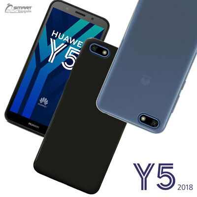 AU4.59 • Buy Matte Gel Soft TPU Gel Jelly Rubber Case Cover For Huawei Y5 2018