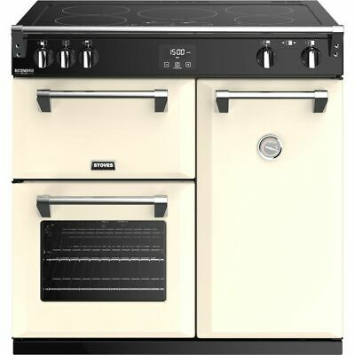 £2179 • Buy Stoves Richmond Deluxe S900EI 90cm 5 Burners A/A/A Electric Range Cooker Cream