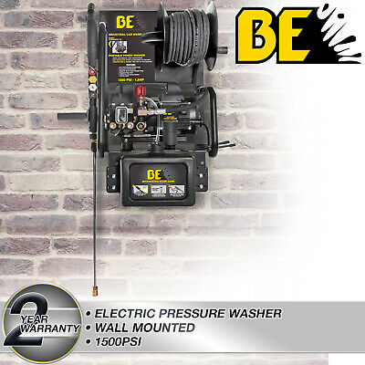 Pressure Washer Electric Wallmounted Commercial Grade Pump 1500PSI 6L/min Cars • 556.49£