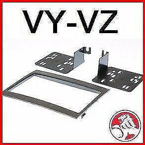 AU22.85 • Buy SP Double DIN Facia Kit Fascia Dash For Holden VY-VZ Commodore Monaro 2002+ GREY