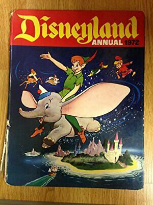 DISNEYLAND ANNUAL 1972 Book The Cheap Fast Free Post • 12.99£