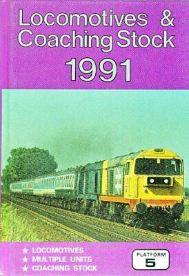 £9.89 • Buy Locomotives & Coaching Stock 1991 By Peter Fox Book The Cheap Fast Free Post