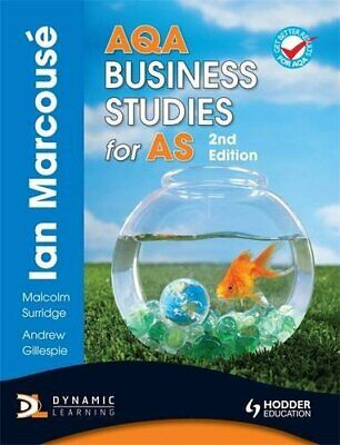 AQA Business Studies For AS, 2nd Edition (Marcous�) By Marcouse, Ian Paperback • 5.99£