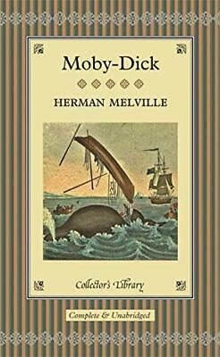 Moby-Dick (Collector's Library) By Melville, Herman Hardback Book The Cheap Fast • 4.01£