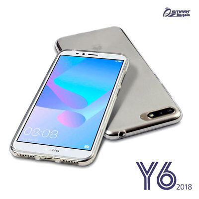 AU4.59 • Buy Matte Clear Gel Soft TPU Gel Jelly Rubber Case Cover For Huawei Y6 2018
