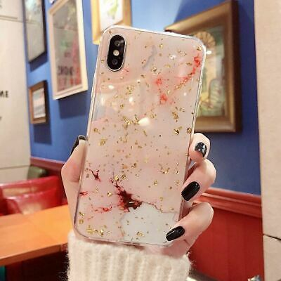 AU7.95 • Buy IPhone 11 Pro Max XR XS 8 7 6 Case Shockproof Tough Marble Soft Cover For Apple