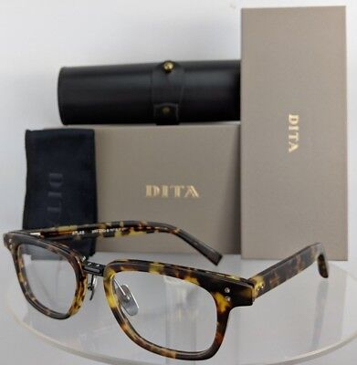 6c51f852c2b Brand New Authentic Dita Eyeglasses ATLAS DRX 2063 B Tortoise Black Frame  51mm • 174.99