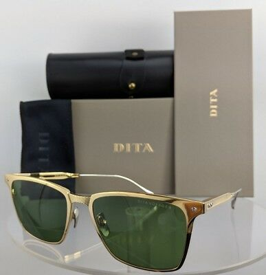 bfa4089b1f38 Brand New Authentic Dita Sunglasses VOYAGER DRX 2084 C Gold Silver 55mm  Frame • 189.99