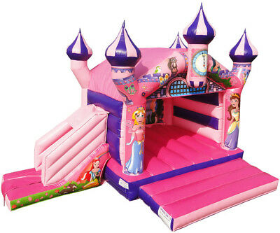 Princess Bouncy Castle With Slide • 2,395£
