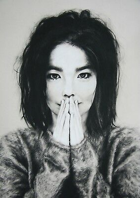 Reproduction  Bjork  Poster, Home Wall Art • 12£