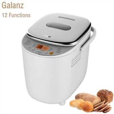 View Details Automatic Bread Maker Machine LED Touching Panel 12 Functions Preset 540W UK • 31.99£