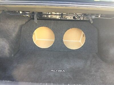 """ZEnclosures 2-10/"""" Subwoofer Sub Speaker Box for the 2006-2012 FORD FUSION"""