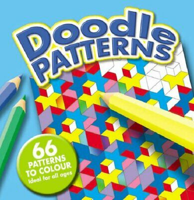 Doodle Patterns 1/Doodle Patterns 2 (Doodle Design S.) Paperback Book The Cheap • 5.99£