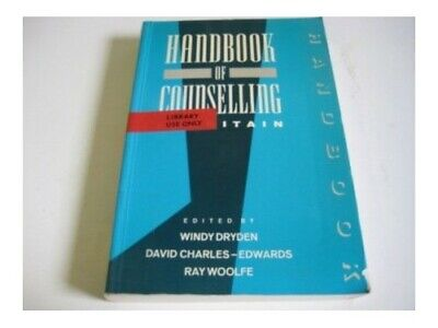 Handbook Of Counselling In Britain Paperback Book The Cheap Fast Free Post • 4.49£