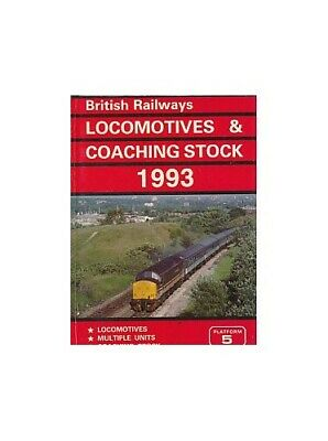 £5.49 • Buy British Railways Locomotives And Coaching Stock 1993 Paperback Book The Cheap