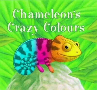Chameleon's Crazy Colours By Terry, Mike Hardback Book The Cheap Fast Free Post • 5.99£