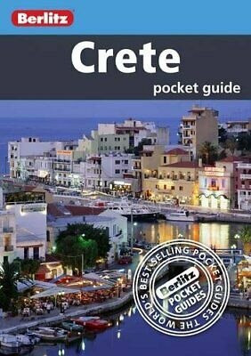 Crete Berlitz Pocket Guide (Berlitz Pocket Guides) By Berlitz Paperback Book The • 5.99£