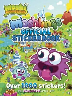 Moshi Monsters Official Moshlings Sticker Book By Unknown Book The Cheap Fast • 4.99£