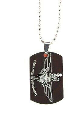 £8.95 • Buy Parachute Regiment Army Dog Tag Personalised Gift Engraved With Any Name & No.