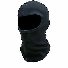 Diablo Thermal Black Cotton Balaclava - Motorcycle Ski Scooter Helmet Neck Guard • 2.29£