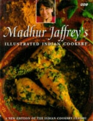 £4.99 • Buy Illustrated Indian Cookery Course By Jaffrey, Madhur Hardback Book The Cheap