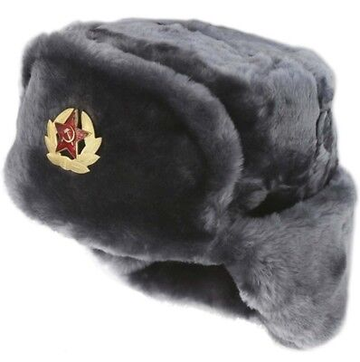 2b001e108a3 Russian Winter Hat Ushanka Soviet Army Trapper Military