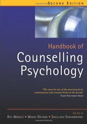 £5.49 • Buy Handbook Of Counselling Psychology Paperback Book The Cheap Fast Free Post
