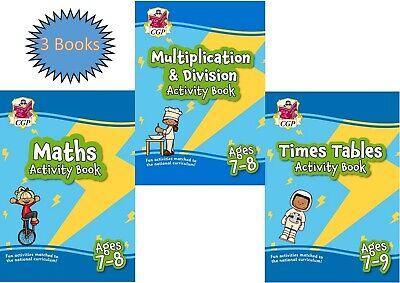 Ks2 Sats Year 3 Maths Times Table Multiplication Activity Books 3 Books Age 7- 8 • 10.99£