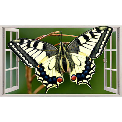 Wall Stickers Butterfly Nature Garden Insect  Bedroom Girls Boy Living Room C662 • 22.49£