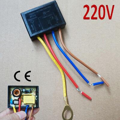 220 V Touch Lighting Control Sensor Lamp Switch Dimmer Halogen Tungsten LED 150W • 4.99£