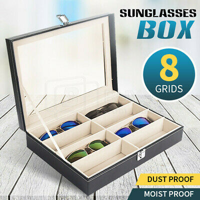 AU22.41 • Buy VIVVA 8 Grids Sunglasses Eyeglasses Glasses Display Box Case Storage Organizer