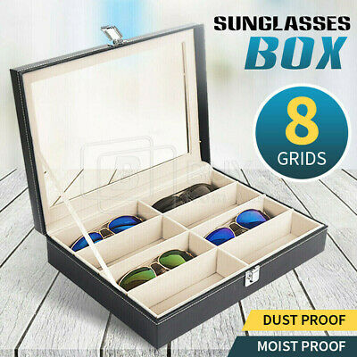 AU22.43 • Buy VIVVA 8 Grids Sunglasses Eyeglasses Glasses Display Box Case Storage Organizer