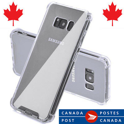 $ CDN4.95 • Buy Clear Bumper Case For Note 8, S8 , S8 Plus Transparent TPU Soft Case For Samsung
