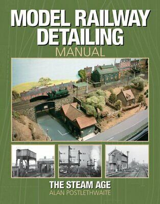 Model Railway Detailing Manual: A Source Book... By Postlethwaite, Alan Hardback • 8.49£