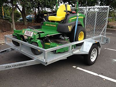 AU3800 • Buy 72  ZERO TURN RIDE ON MOWER TRAILER FERRIS TORO John Deere Etc Mowing
