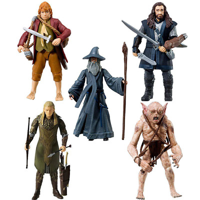 £9.99 • Buy The Hobbit An Unexpected Journey 3.75  Action Figures Choose From 5 Mint Carded