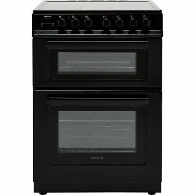 Electra TCR60B Free Standing A Electric Cooker With Ceramic Hob 60cm Black New • 289£