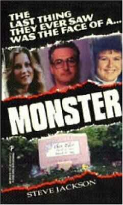 £3.99 • Buy Monster By Jackson, Steve Paperback Book The Cheap Fast Free Post