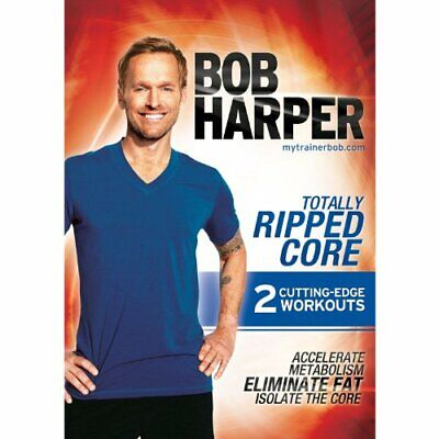 Bob Harper Totally Ripped Core [DVD] - DVD  FYVG The Cheap Fast Free Post • 3.98£