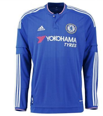 Adidas Chelsea Boys 2015/16 Jersey Shirt L/s Bnwt Age 13-14 100% Official Last2  • 14.99£