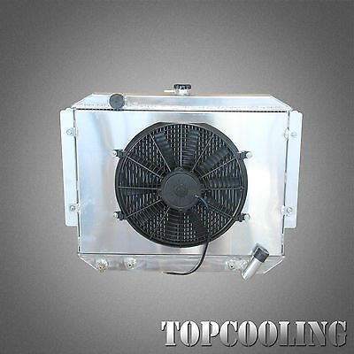 AU700 • Buy Aluminum Radiator With Fan Shroud For Mitsubishi Pajero NA NF NG NK NL 3.0L V6