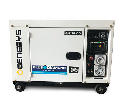 AU2300 • Buy Portable Generator - Diesel 6.5kva - Silenced Canopy *free Delivery*