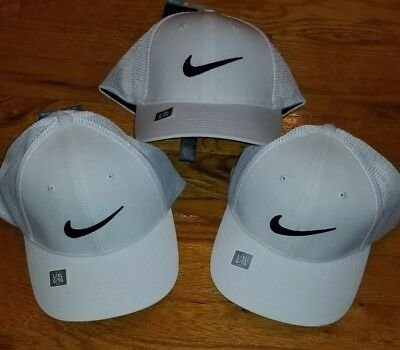official photos dea29 be03c  3 Hat Lot  NIKE GOLF HATS Mens Womens Cap Victory Tiger McIlroy Day Zoom