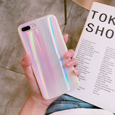 AU5.60 • Buy For IPhone XS Max R 8 6 7 Girl Pink Women Bling Slim Glossy Soft New Case Cover